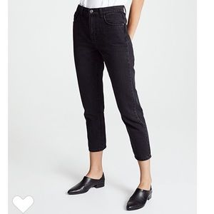 Current Elliot cropped slim jeans